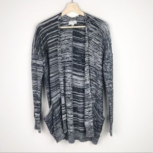 Poof Excellence Black/White Cardigan M